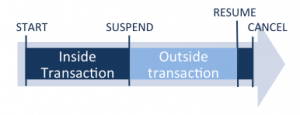 Suspend and Resume Transaction