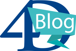 logo 4D blog with link