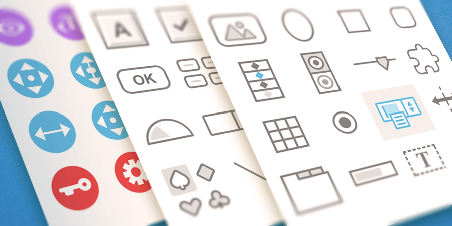 New icons for Form Editor
