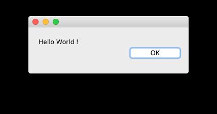 Hello World dialog