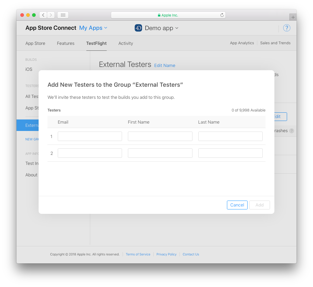 How to Beta Test iOS Apps Using TestFlight – 4D Blog
